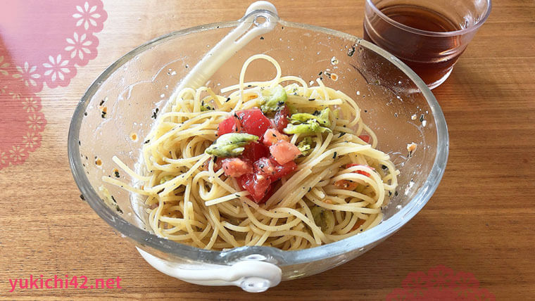 簡単に作れる冷製トマトパスタ